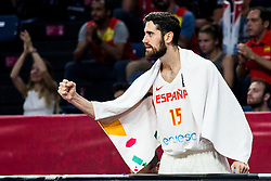 Joan Sastre of Spain reacts during basketball match between National Teams  Spain and Russia at Day 18 in 3rd place match of the FIBA EuroBasket 2017 at Sinan Erdem Dome in Istanbul, Turkey on September 17, 2017. Photo by Vid Ponikvar / Sportida
