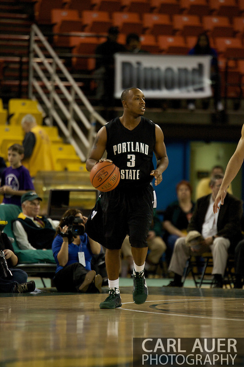 November 29th, 2008:  Anchorage, Alaska - Portland State guard Andre Murray (3) in the third place game on the final day of the Great Alaska Shootout.