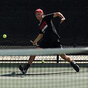 11 March 2016: The San Diego State Aztecs tennis team took on Arizona Saturday afternoon at the SDSU Tennis Center.