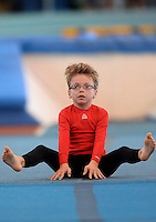 20 Aug 2016:  Jamie Somers, from Sligo, performs in the U9 Gymnastics.   2016 Community Games National Festival 2016.  Athlone Institute of Technology, Athlone, Co. Westmeath. Picture: Caroline Quinn