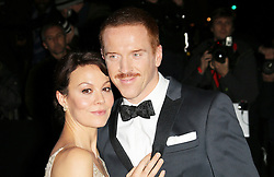 © Licensed to London News Pictures. Helen McCrory and Damian Lewis attending the London Evening Standard Theatre Awards at the The Savoy Hotel in London, UK on 17 November 2013. Photo credit: Richard Goldschmidt/PiQtured/LNP