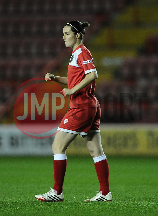Bristol Academy Womens' Natalia Pablos Sanchon  - Photo mandatory by-line: Joe Meredith/JMP - Mobile: 07966 386802 - 13/11/2014 - SPORT - Football - Bristol - Ashton Gate - Bristol Academy Womens FC v FC Barcelona - Women's Champions League