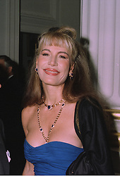 MRS DONATELLA FLICK ex wife of the Mercedes heir, at a reception in London on 22nd September 1997.MBK 26 WO