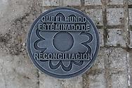 Florencia, Caquet&aacute;, Colombia - 21.09.2016        <br /> <br /> New memorial for the victims of mines in Florencia, the Colombian provincial capital of Caquet&aacute;. All civil war parties and also drug cartels use anti-person mines. Still new mines were laid and many regions of Colombia are haven&acute;t been cleared. <br /> <br /> Vor wenigen Tagen errichtetes Mahnmal fuer die Opfer von Minen in Florencia, der Hauptstadt der kolumbianischen Provinz Caquet&aacute;. Alle beteiligten Parteien des Buergerkriegs, ebenso wie die Drogenkartelle nutzten Anti-Personenminen. Nach wie vor werden Minen verlegt. Zahlreiche Regionen Kolumbiens sind nicht frei von Minen.<br /> <br /> Photo: Bjoern Kietzmann