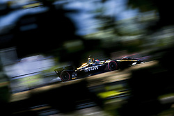 August 31, 2018 - Portland, Oregon, United Stated - JAMES HINCHCLIFFE (5) of Canada takes to the track to practice for the Portland International Raceway at Portland International Raceway in Portland, Oregon. (Credit Image: © Justin R. Noe Asp Inc/ASP via ZUMA Wire)
