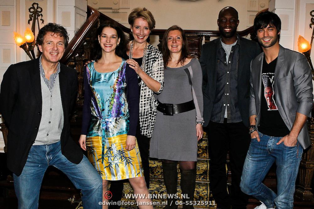 NLD/Amsterdam/20100305 - Photocall Nanny McPhee 2, met Emma Thompson, regisseuse Susanna White, Murth Mossel, Jan Kooijman, Robert ten Brink