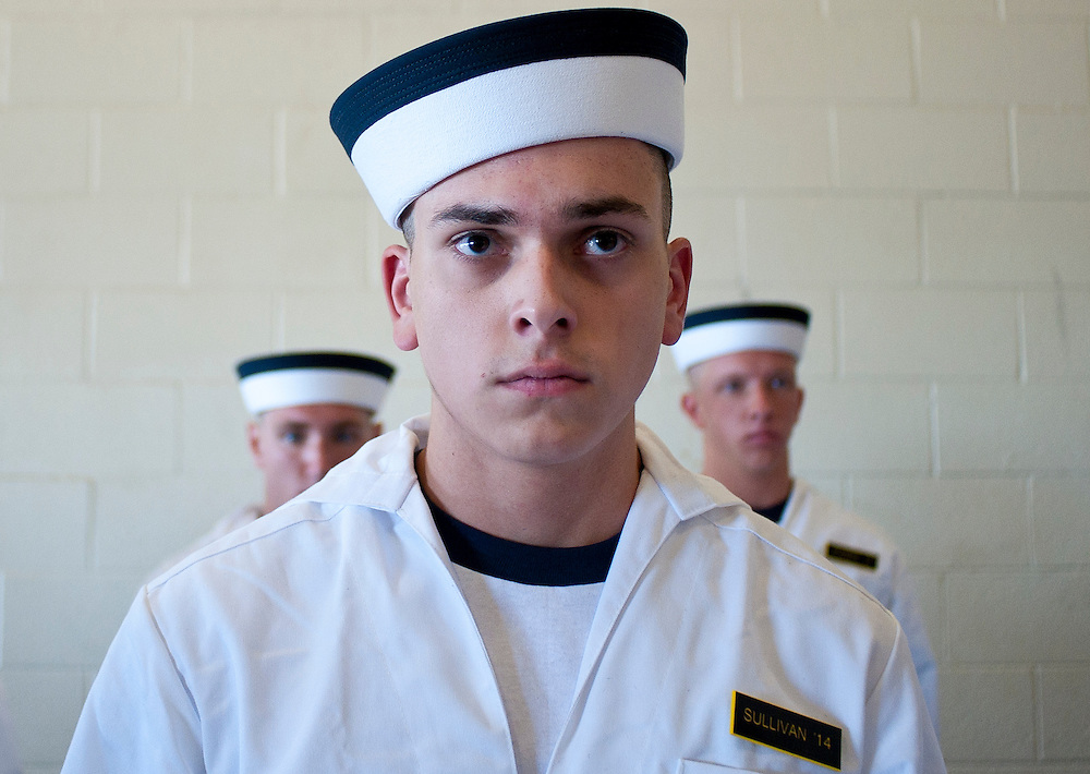"Approximately 1,230 young men and women arrived at the U.S. Naval Academy's Alumni Hall, Thursday, July 1, for Induction Day to begin their new lives as ""plebes"" or midshipmen fourth class (freshmen). ""I-Day"" culminates when the members of the Class of 2014 take the oath of office at a ceremony at 6 p.m. in Tecumseh Court, the historic courtyard of the Bancroft Hall dormitory. Over 17,400 young men and women applied to be members of the Naval Academy Class of 2014 - a record for USNA."