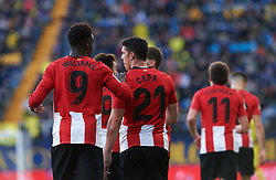 January 20, 2019 - Villarreal, Castellon, Spain - Athletic Club de Bilbao players celebrates a goal during the La Liga Santander match between Villarreal and Athletic Club de Bilbao at La Ceramica Stadium on Jenuary 20, 2019 in Vila-real, Spain. (Credit Image: © Maria Jose Segovia/NurPhoto via ZUMA Press)