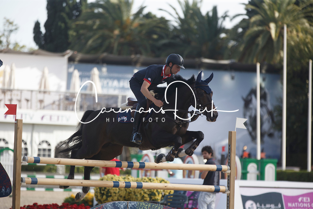 Van Asten Leopold, (NED), VDL Groep Beauty<br /> Furusiyya FEI Nations Cup Jumping Final - Barcelona 2015<br /> &copy; Dirk Caremans<br /> 23/09/15