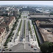Torino,  l'ex carcere Le Nuove lungo il nuovo asse viario della spina centrale
