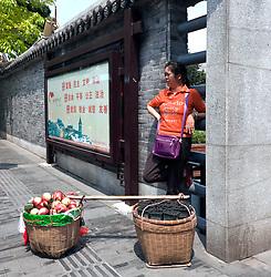 Fruit Vendor Guangzhou, China