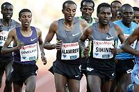 Friidrett , 7. juni 2012 , Diamond League Bislett Games , <br /> Yenew Alamirew , Yigrem Demelash ,  5000 m
