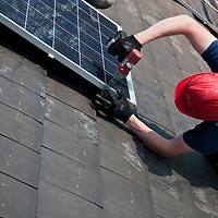 Construction-solar installation