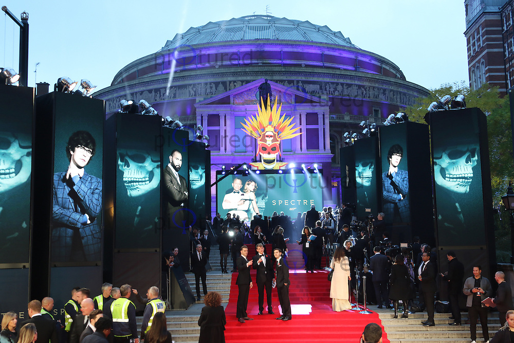 Bond: Spectre - World Premiere & Royal Film Performance, Royal Albert Hall, London UK, 26 October 2015, Photo by Richard Goldschmidt