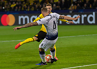 Football - 2018 / 2019 UEFA Champions League - Round of Sixteen, Second Leg: Borussia Dortmund (0) vs. Tottenham Hotspur (3)<br /> <br /> Toby Alderweireld (Tottenham FC) with a last minute clearence at Signal Iduna Park (Westfalenstadion).<br /> <br /> COLORSPORT/DANIEL BEARHAM