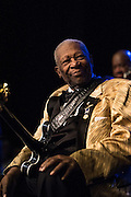Living legend blues guitarist, B.B. King and his band perform at the Moore in Seattle, WA. Photo by John Lill