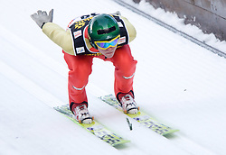 Mario Innauer of Austria competes during Trial round of the FIS Ski Jumping World Cup event of the 58th Four Hills ski jumping tournament, on January 5, 2010 in Bischofshofen, Austria. (Photo by Vid Ponikvar / Sportida)