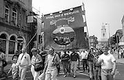 Phurnacite Lodge banner. NUM Centenary Demonstration and Gala, Barnsley.