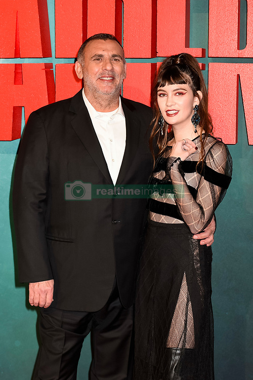 Graham King and guest attend the Tomb Raider European Premiere at the Vue West End, London.  Picture date: Tuesday 6th March 2018.  Photo credit should read:  David Jensen/ EMPICS Entertainment
