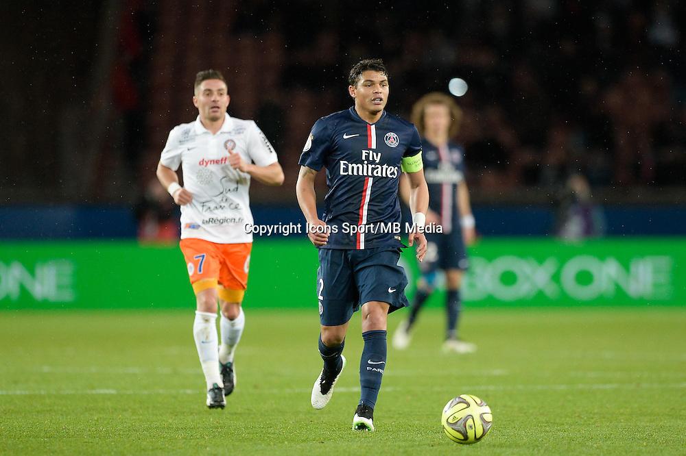 Thiago SILVA - 20.12.2014 - Paris Saint Germain / Montpellier - 17eme journee de Ligue 1 -<br />Photo : Aurelien Meunier / Icon Sport