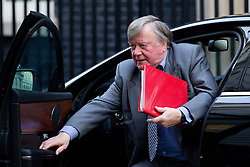 © Licensed to London News Pictures. 26/11/2013. London, UK. Minister without Portfolio, Ken Clarke, arrives for a meeting of British Prime Minister David Cameron's Cabinet on Downing Street in London today (26/11/2013). Photo credit: Matt Cetti-Roberts/LNP