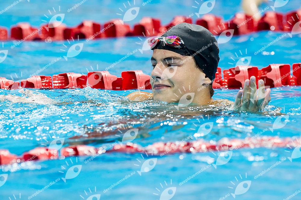 KHLOPTSOV Andrii UKR<br /> 50 Butterfly Men Semifinal<br /> Day04 28/08/2015 - OCBC Aquatic Center<br /> V FINA World Junior Swimming Championships<br /> Singapore SIN  Aug. 25-30 2015 <br /> Photo A.Masini/Deepbluemedia/Insidefoto