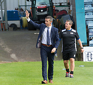 August 5th 2017, Dens Park, Dundee, Scotland; Scottish Premiership; Dundee versus Ross County; Ross County boss Jim McIntyre