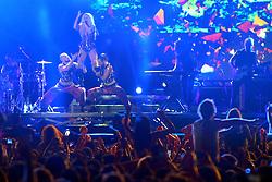 Kesha no palco central do Planeta Atlântida 2015, que acontece nos dias 30 e 31 de Janeiro de 2015, na Saba, em Atlântida. FOTO: Marcos Nagelstein/ Agência Preview