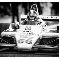#66, Williams FW08 (1982), Tommy Dreelan (IE), Silverstone Classic 2015, FIA Masters Historic Formula One. 25.07.2015. Silverstone, England, U.K.  Silverstone Classic 2015.