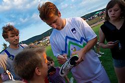 Valter Birsa na dobrodelni nogometni tekmi SD Bilje, katere izkupicek  je namenjen Zavodu Lu ter Fundaciji Vrabcek upanja, on June 22, 2012 in Bilje pri Novi Gorici, Slovenia. (Photo by Vid Ponikvar / Sportida.com)