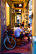 Teksen Restaurant, evening diners.