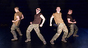 5 Soldiers : The Body is the Frontline<br /> Rosie Kay Dance Company <br /> at The Rifles Officers' Club, London, Great Britain <br /> press photocall <br /> 7th May 2015 <br /> <br /> Duncan Anderson<br /> <br /> Chester Hayes <br /> <br /> Sean Marcs<br /> <br /> Oliver Russell <br /> <br /> choregrphy by Rosie Kay <br /> <br /> <br /> <br /> <br /> Photograph by Elliott Franks <br /> Image licensed to Elliott Franks Photography Services