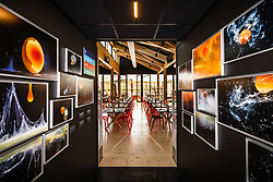 Café des Chefs - Oeuvres photographiques de Pauline Daniel (Série Cosmogonie de l'Oeuf) • Pavillon de la France, World Expo 2015, Milano