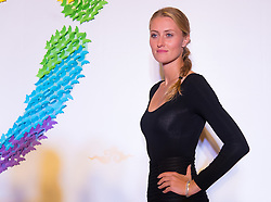September 22, 2018 - Kristina Mladenovic of France on the red carpet at the 2018 Dongfeng Motor Wuhan Open WTA Premier 5 tennis tournament players party (Credit Image: © AFP7 via ZUMA Wire)