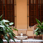 Patio in Barrio de Santa Cruz, Seville