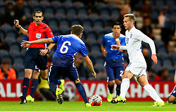James Wilson of England U21 in action - Mandatory byline: Matt McNulty/JMP - 07966386802 - 03/09/2015 - FOOTBALL - Deepdale Stadium -Preston,England - England U21 v USA U23 - U21 International