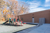 Architectural image of Longfellow Elementary School in Columbia Maryland by Jeffrey Sauers of Commercial Photographics, Architectural Photo Artistry in Washington DC, Virginia to Florida and PA to New England