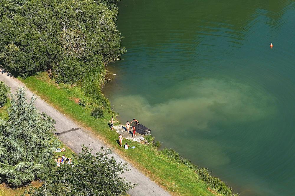 Bruz et Guichen - Pont-Réan, baignade dans la Vilaine