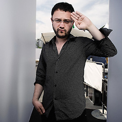 """Director Riad Sattouf's presenting his first movie """"Les Beaux Gosses"""" at the 62th Cannes Film Festival. France. 17 May 2009. Photo: Antoine Doyen"""