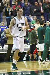 17 December 2011:  Kevin Reed during an NCAA mens division 3 basketball game between the Washington University Bears and the Illinois Wesleyan Titans in Shirk Center, Bloomington IL