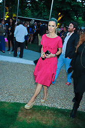 LAURA BAILEY at the annual Serpentine Gallery Summer Party sponsored by Canvas TV  the new global arts TV network, held at the Serpentine Gallery, Kensington Gardens, London on 9th July 2009.