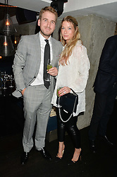 ALI & CHELSEA COUTTS-WOOD at a dinner to celebrate London Fashion Week SS 2015 and the opening of Ramusake at 92 Old Brompton Road, London on 15th September 2014.