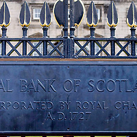 Edinburgh  April 22 - The Head Office and Registred Office of Royal Bank of Scotland, Royal Bank of Scotland on Tuesday became the latest lender to seek new funds to cover its soured investments, saying it would sell £12 billion of new shares to current investors as it seeks to restore its capital base.