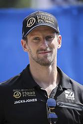 Romain Grosjean attends the Grand Prix de France 2019, Le Castellet on June 23rd, 2019. Photo by Marco Piovanotto/ABACAPRESS.COM