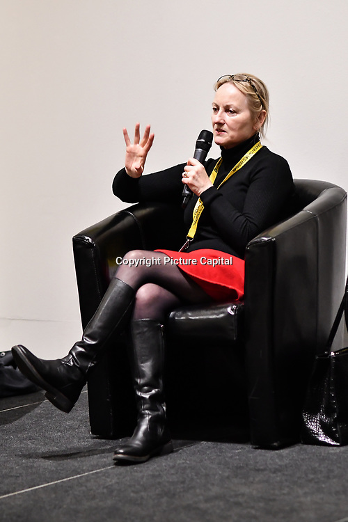 Speaker Noirin Carmody, Revolution  at London Games Festival 2019: HUB at Somerset House at Strand, London, UK. on 2nd April 2019.