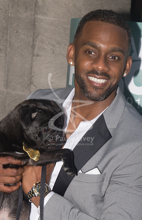 Grosvenor House Hotel, London, September 7th 2016. Celebrities attend the RSPCA's annual awards ceremony recognising the country's bravest animals and the individuals committed to improving their lives. PICTURED: Richard Blackwood from Eastenders