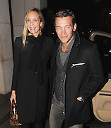 01.FEBRUARY.2011. LONDON<br /> <br /> FOOTBALLER ANDRE SHEVCHENKO WITH HIS WIFE KRISTEN PAZIK AT THE METROPOLITAN HOTEL IN CENTRAL LONDON<br /> <br /> BYLINE: EDBIMAGEARCHIVE.COM<br /> <br /> *THIS IMAGE IS STRICTLY FOR UK NEWSPAPERS AND MAGAZINES ONLY*<br /> *FOR WORLD WIDE SALES AND WEB USE PLEASE CONTACT EDBIMAGEARCHIVE - 0208 954 5968*