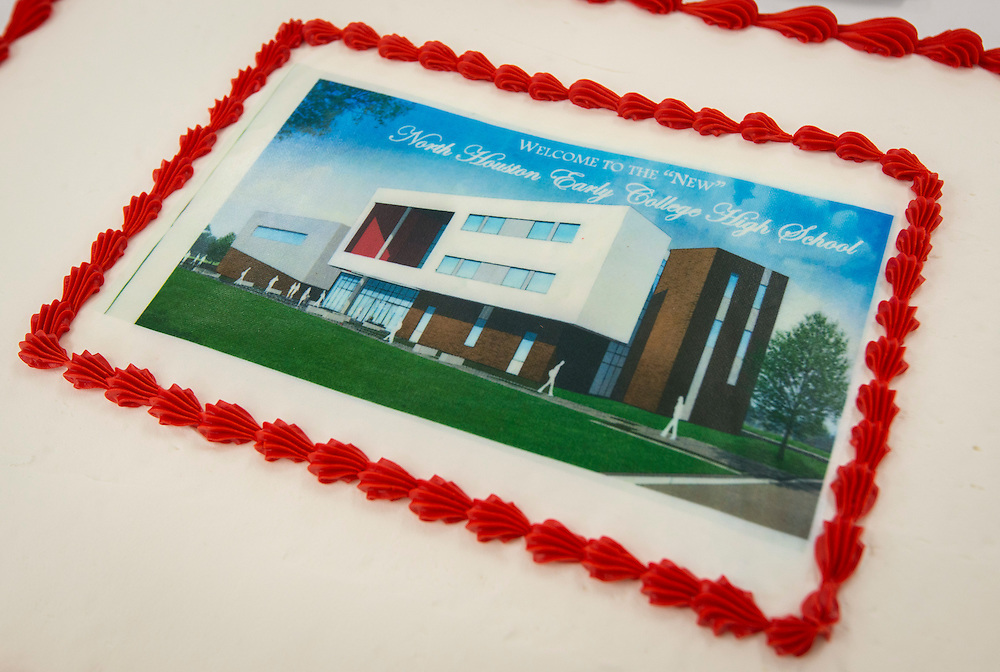 Dedication of new North Houston Early College High School, August 19, 2016.