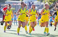 AMSTELVEEN - . Semi Final Pro League  women, Argentina-Australia (1-1) . Austr. wns. COPYRIGHT KOEN SUYK