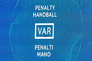 A penalty is given after a VAR hand-ball decision during the Champions League match between Chelsea and Valencia CF at Stamford Bridge, London, England on 17 September 2019.